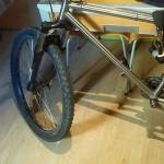 Bicicleta usada MTB acero