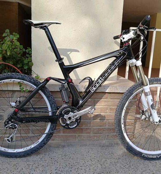 Bicicleta Scott Genius 20 usada