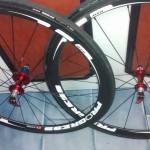 Juego ruedas usadas Progress Air 38 carbono