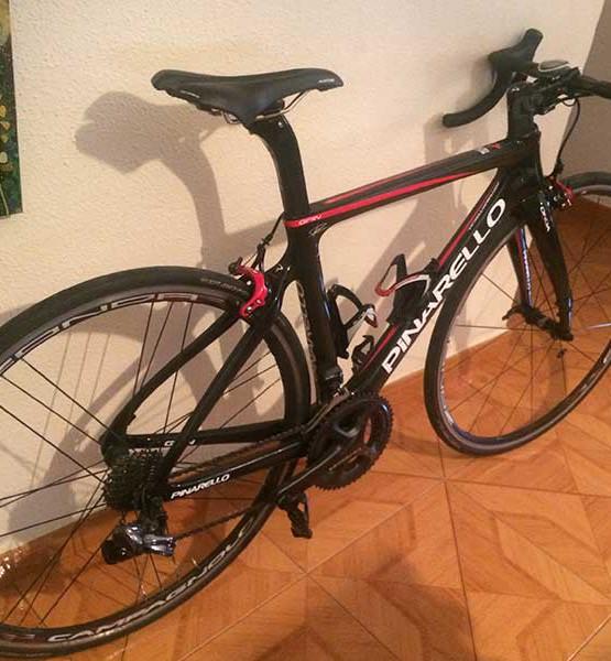 Bicicleta Pinarello Gan Usada
