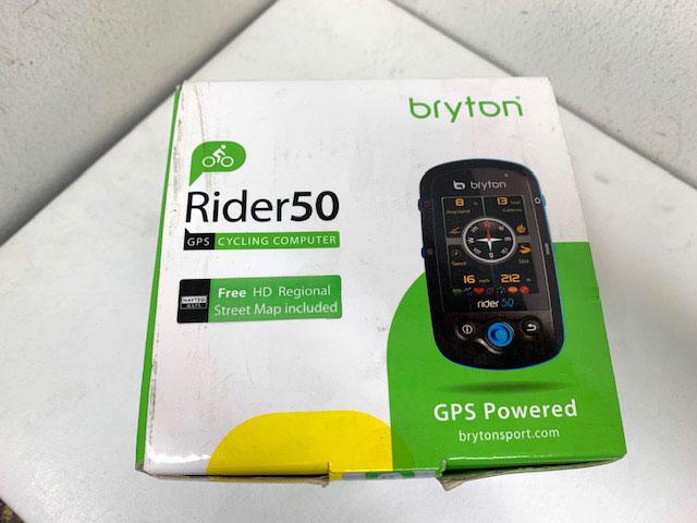 GPS Bryton Rider 50