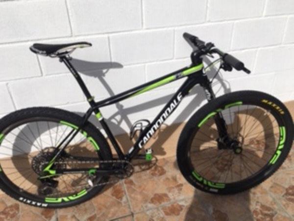 Bicicleta Cannondale MTB usada