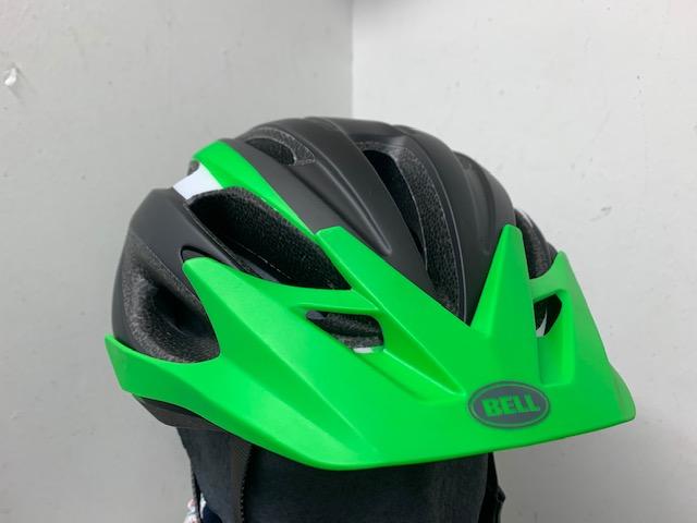 Casco Bell Crest negro verde