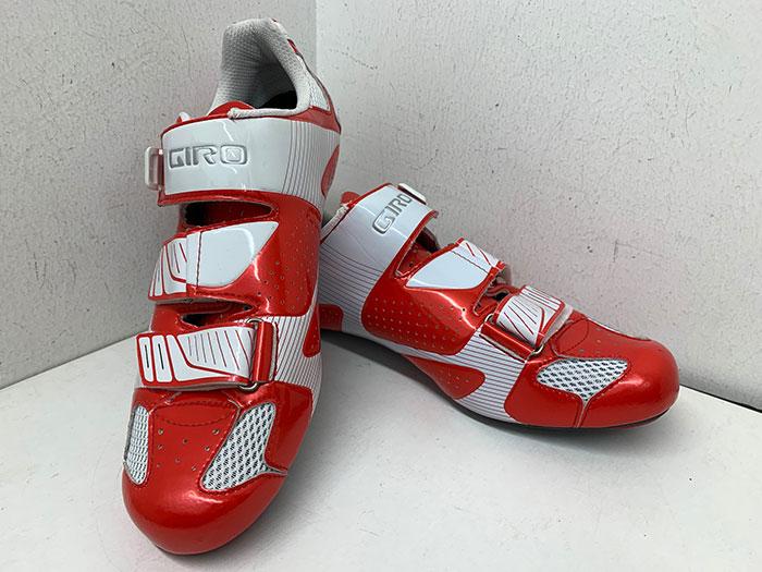 Zapatillas carretera Giro rojas