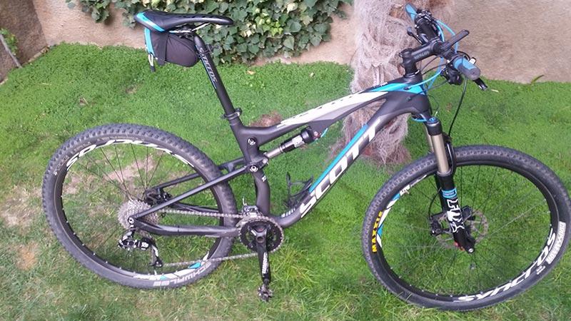 Bicicleta usada Scott Spark