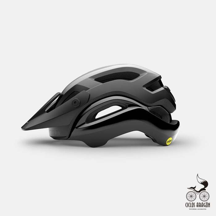 casco giro manifest spherical mips negro mate