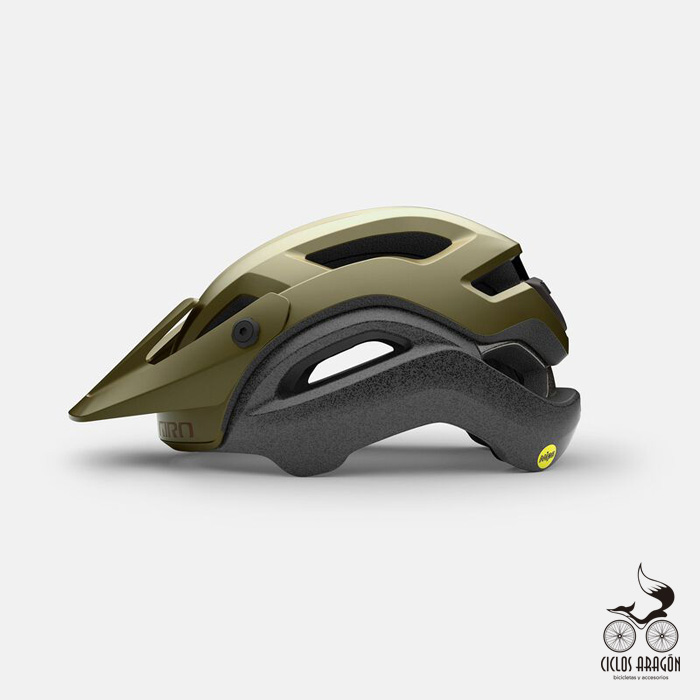 casco giro manifest spherical mips verde mate