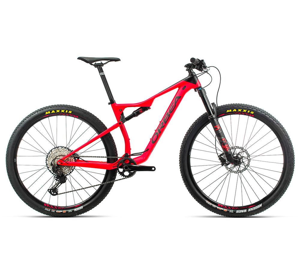 Bicicleta Orbea Oiz aluminio H20 rojo