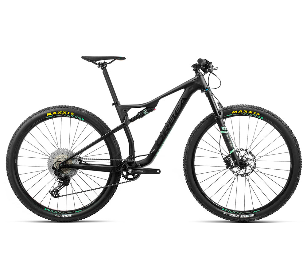 Bicicleta Orbea Oiz 29 h30 de aluminio negra