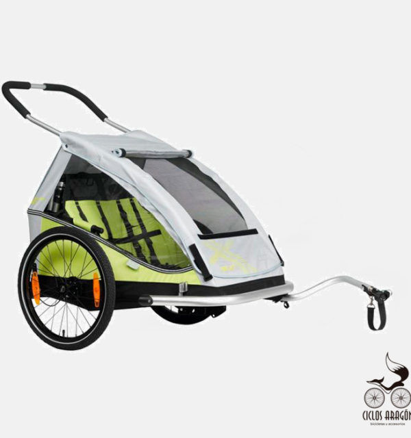 Remolque bicicleta para niños XLC Duo8teen