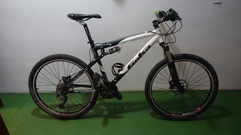 bicicleta usada Goka MTB doble